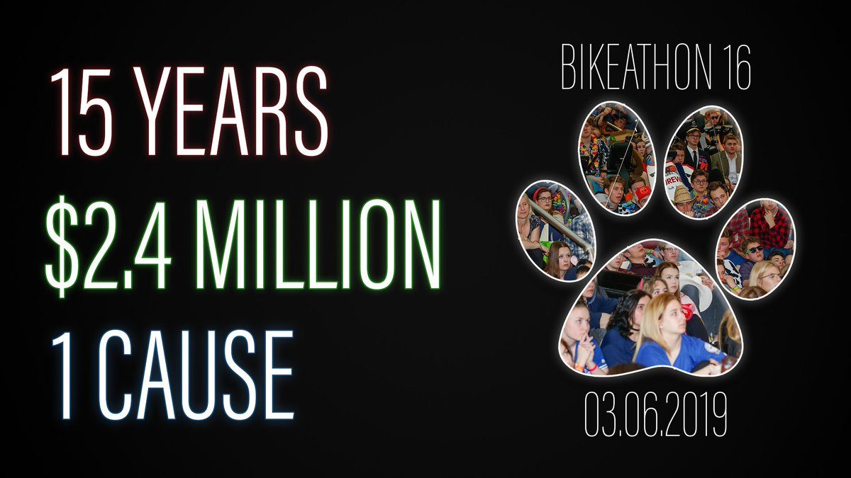 The 2019 Bellerose Bike-A-Thon is tomorrow! Roughly 800 @BCHSBulletin students will ride stationary bikes for 48 hours straight. All funds raised will go towards @albertacancer Help them reach their $100,000 GOAL! donate today: https://www.albertacancer.ca/bellerose