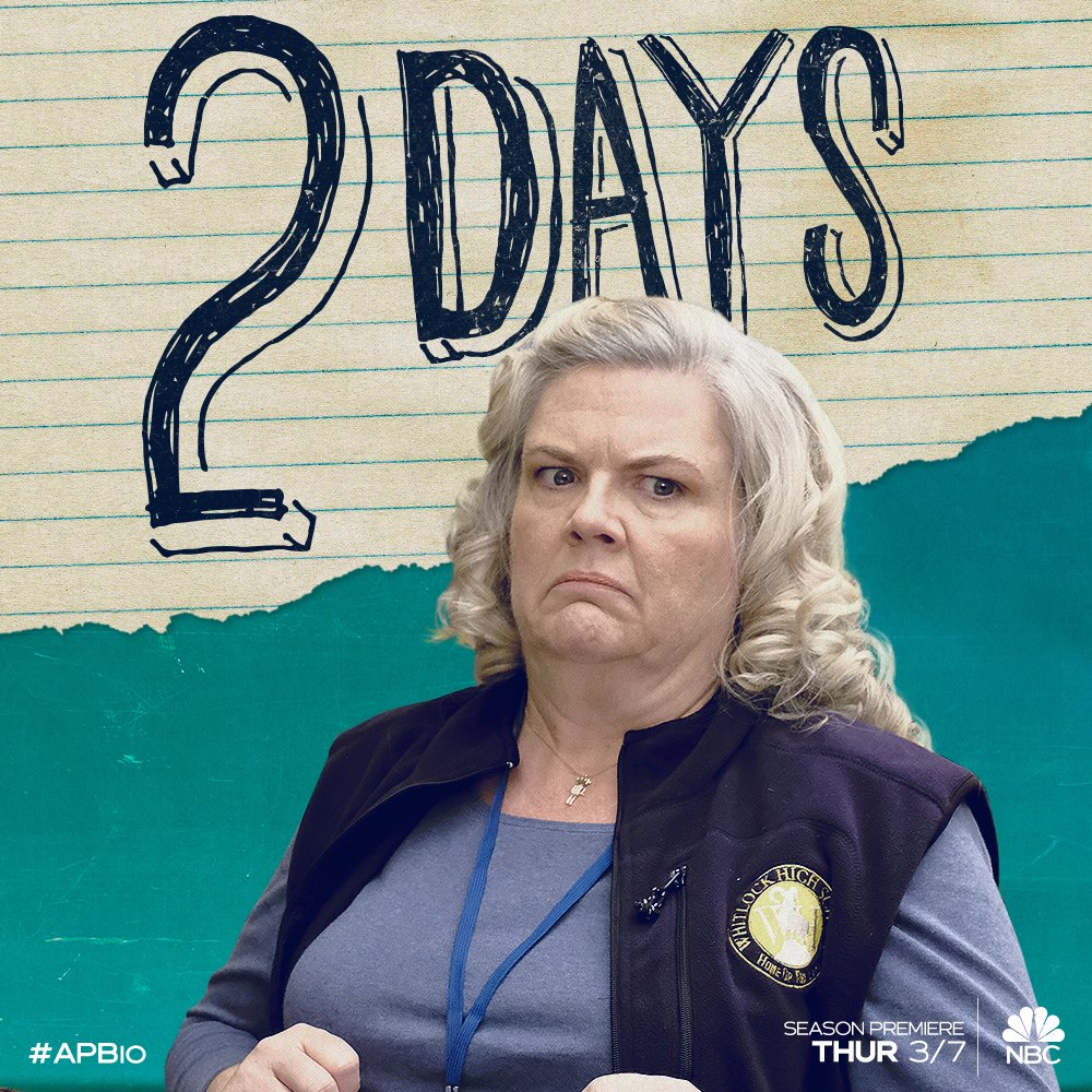 If you loved @perlapell in @DocumentaryNow don't miss her in season two of #APBio March 7 at 8:30/7:30c on @NBC!