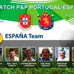 Image for the Tweet beginning: IX MATCH P&P PORTUGAL ESPAÑA