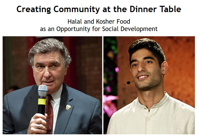 In our new #InterfaithMattersPodcast epi, Rabbi @JoePotasnik & @motweetin  meet up to discuss the importance of food in bringing people together  across lines of cultural & religious difference. Recorded before a  live audience at @EastEndTemple. Listen: https://interfaithcenter.org/creating-community-at-the-dinner-table/?fbclid=IwAR1Kd4_3UQ25H2dKCFFT0hkHN_6AUcwAEtm1aiH2B7W-1AoVTfD6B0dbUp8…