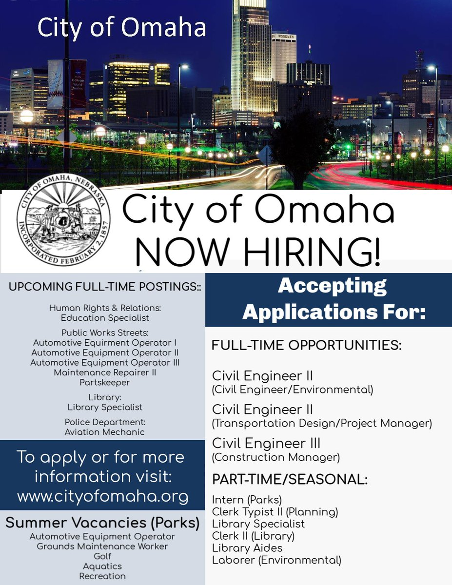 City of Omaha HR (@OmahaHR) | Twitter