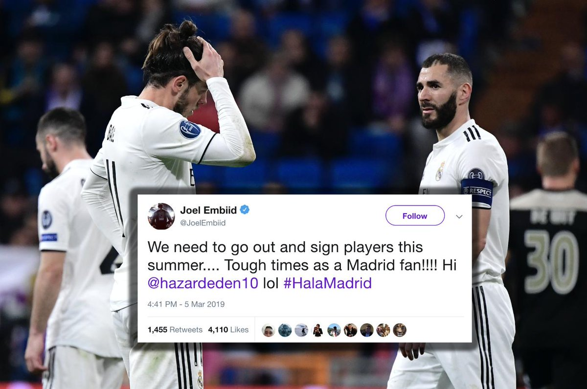 World Reacts to Madrid Shaming by Ajax