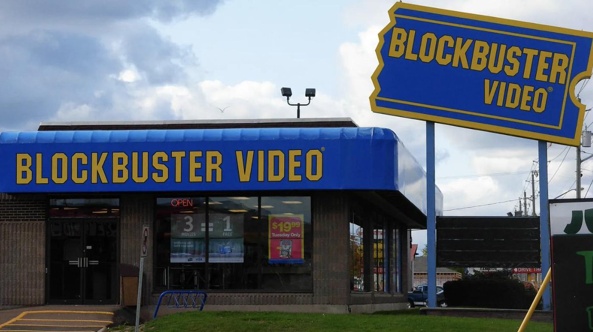 There's only one Blockbuster video left in the world.