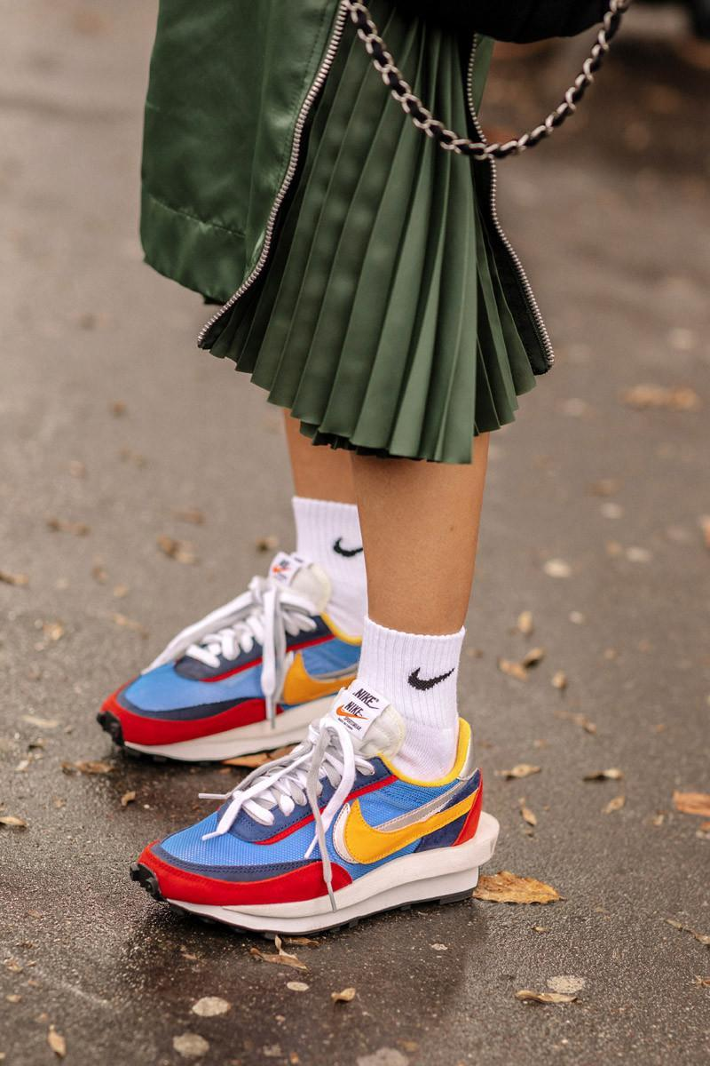 04481bc44505b3 These are the sneakers that Paris  most stylish wore to fashion week  https