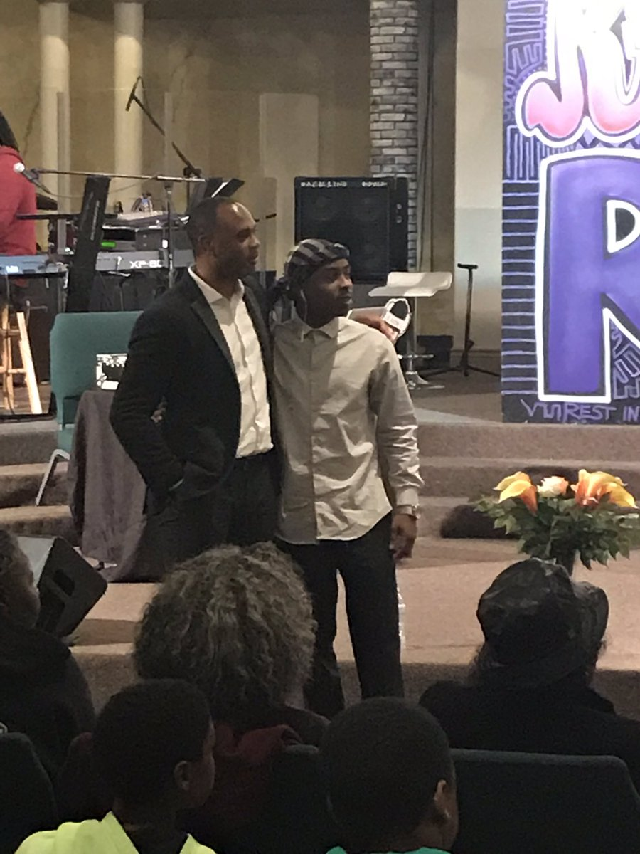 """Grudge feels like power until you feel the real power of love"" - Stevante Clark and Les Simmons listen to the message from Sol Development https://t.co/8yPAEAwKHL"