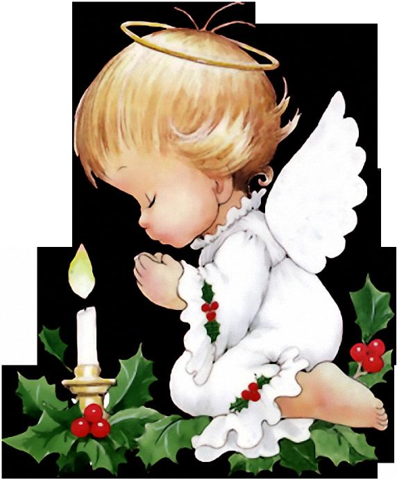 Маленький ангел на открытках