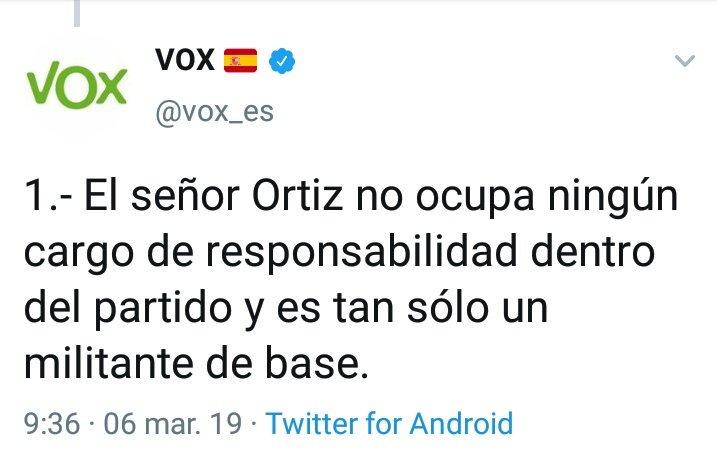 Detenido el líder de VOX en Lleida por delitos sexuales contra menores. D095Qb8WkAAbSFk