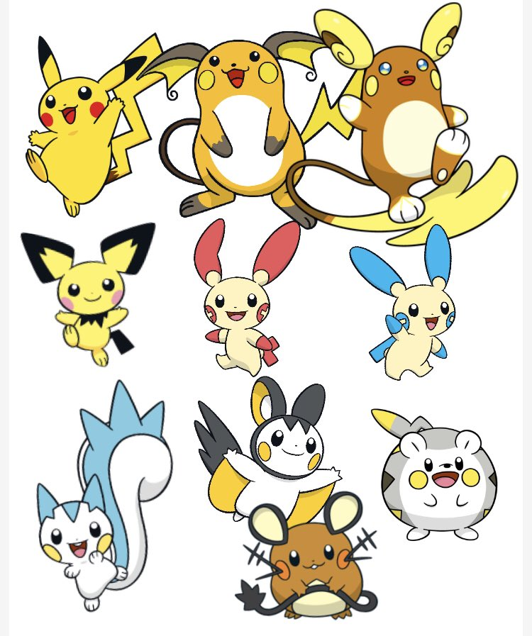 Csl Grookeygang On Twitter Ok Yall One Gotta Go Pikachu And