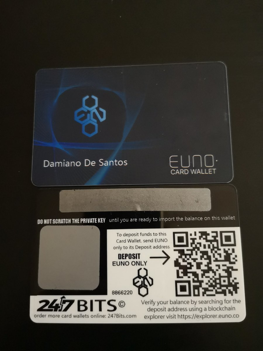 One of the best solutions for Cold Storage. Euno• Cold Storage Card   only available at https://t.co/KLl5KE9wdC  Join us now: https://t.co/dAQ0PevEfS      #247Bits #PayWithCrypto #bitcoin #euno #cryptocurrency #crypto @P_Bateman86 @VergeJaguar   Over 30 Crypto Payments accepted! https://t.co/QKIBorKrB8