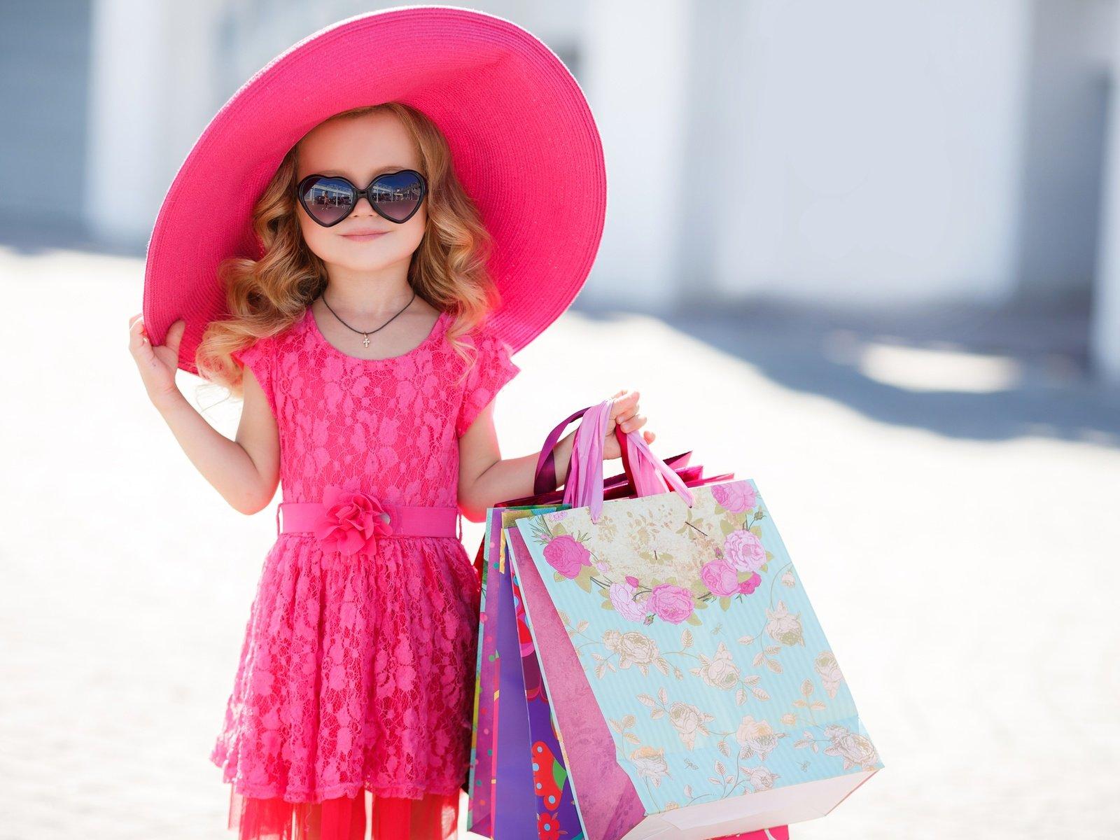 Девочка модница в картинках, днем рождения детей
