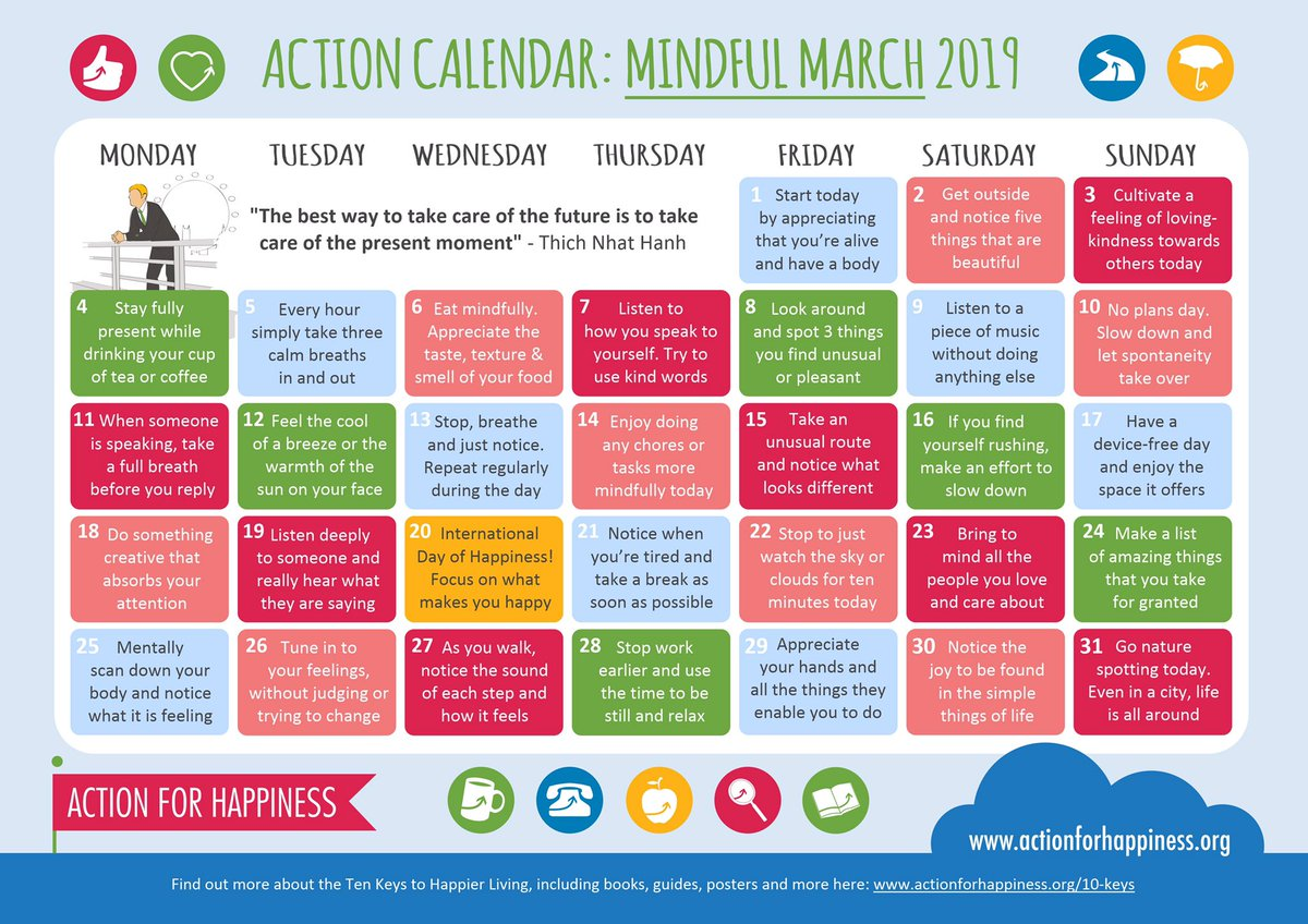 mindfulmarch hashtag on Twitter