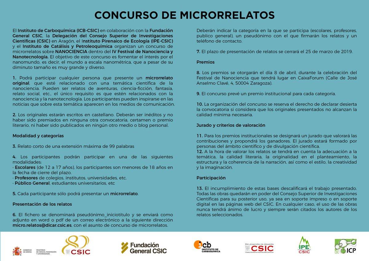 Csic Aragón على تويتر Con El Festival De Nanociencia A La