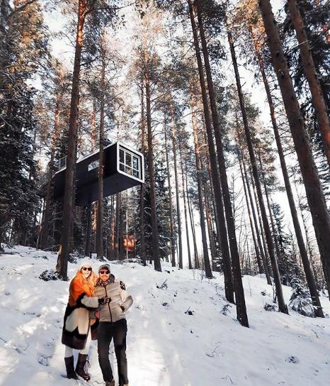 Kuzey ışıkları biz geldik!🌌 2 arkadaşımızla birlikte hem #İsveç, hem #Finlandiya Laponya'sını turlayacağız birkaç gün. Turumuz bittiğinde de bomba bir Kuzey Işıkları ve #Laponya Rehberi gelecek. 😉✌️ https://t.co/fCD8iUYTEe