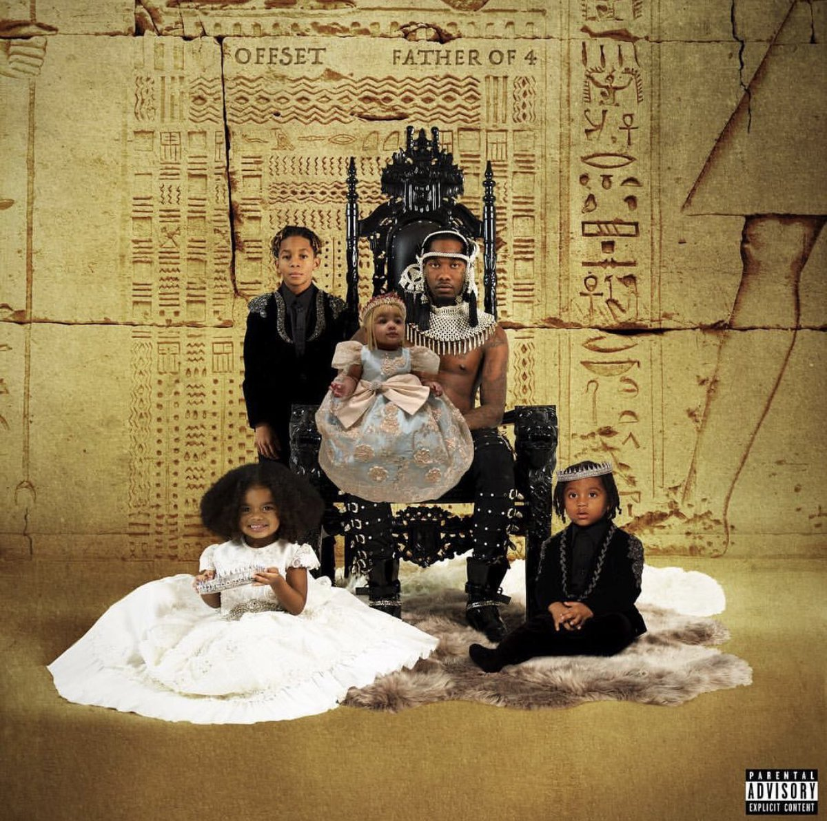"""Last night Atlanta artist Offset &amp; Gunna dropped their first solo albums. Offset released """"Father of 4"""" and Gunna drops, """"Drip or Drown 2"""". <br>http://pic.twitter.com/OYbY9OROEe"""