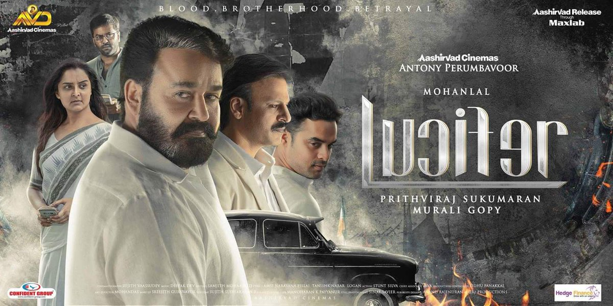 #SubtitlingNext 110. #Lucifer directed by @PrithviOfficial 🔥🔥🔥🔥 with an all star cast led by the one and only @Mohanlal 🔥🔥🔥🔥🔥 Thank you so much Rajuetta for this amazing opportunity to work for you.