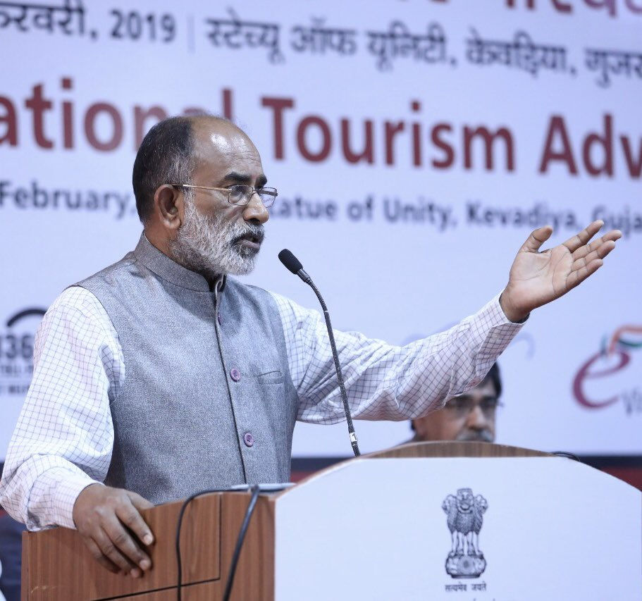 Night #Safari, #Adventure #Tourism, Ropeway among several interesting suggestions received by #NTAC to promote tourism further at world's tallest statue #StatueOfUnity   Details: http://www.pib.nic.in/PressReleaseIframePage.aspx?PRID=1566008 …