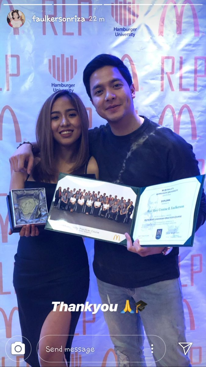 CEO and MD. Congrats, you two... @R_FAULKERSoN must be very proud.   #ALDENRichards @rizzaa_mae igs<br>http://pic.twitter.com/92G9H9VrWI