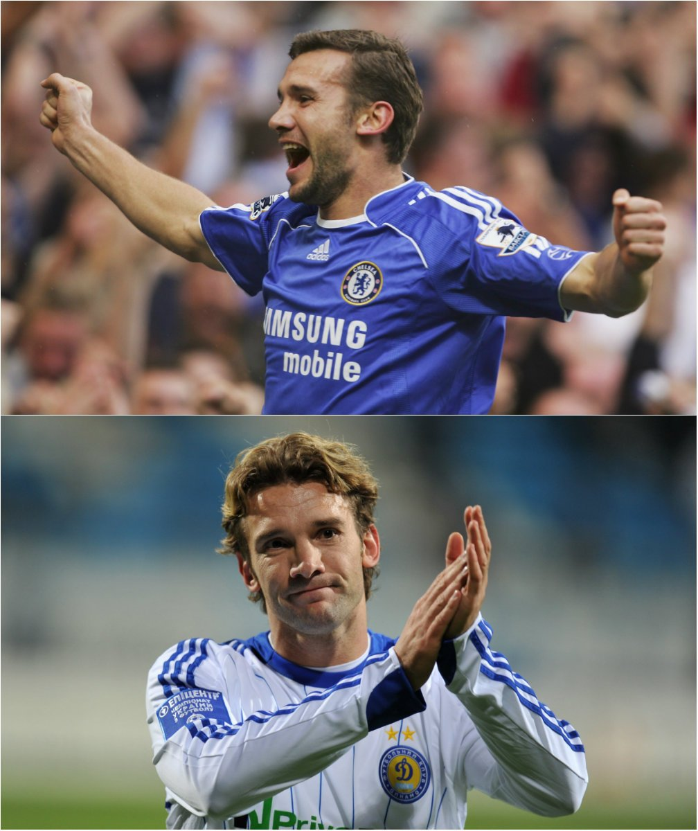 Ukraine coach Andriy Shevchenko played for both Chelsea &amp; Dynamo Kyiv during his illustrious playing career.   #UELdraw<br>http://pic.twitter.com/Eb1zknAPJF