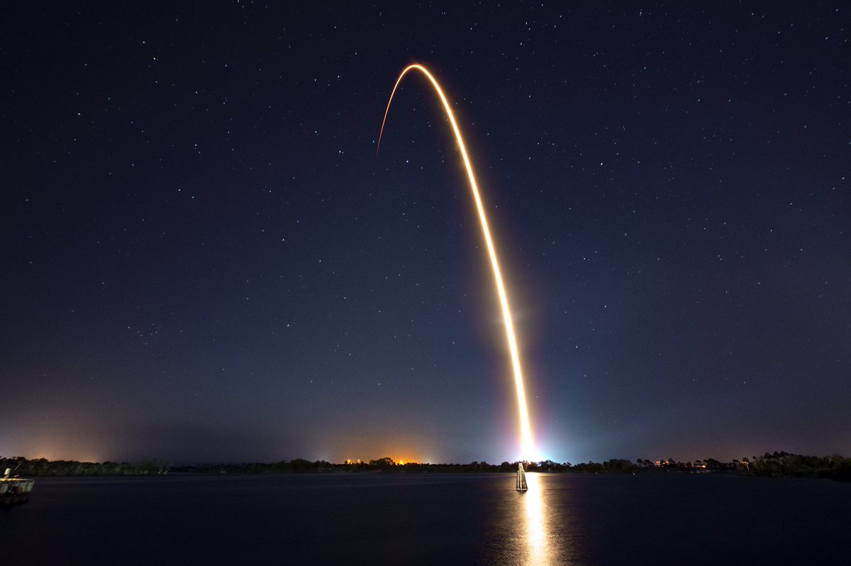 Falcon 9 launches Nusantara Satu to orbit; SpaceX's 70th successful mission and 20th reflight of an orbital class rocket booster