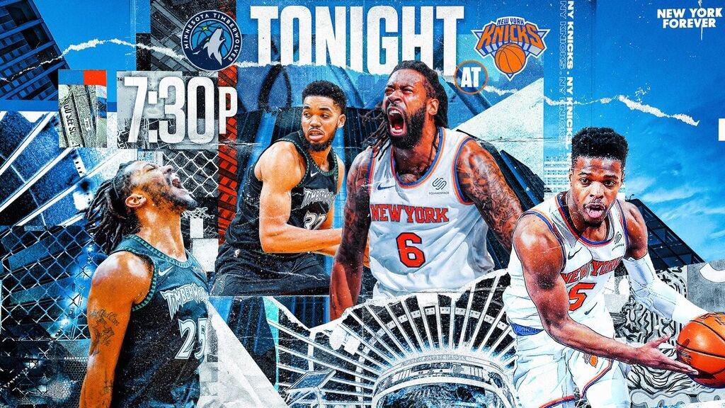Second half starts tonight 🙌 #FridayNightKnicks ⏰ 7:30PM ET 📺 @msgnetworks & MSG GO