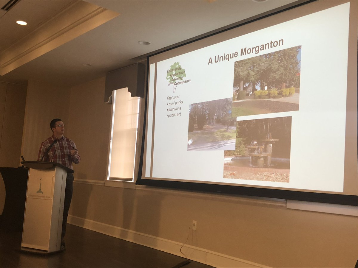 Lookadoo points out what makes Morganton unique — its geography, history and architecture.