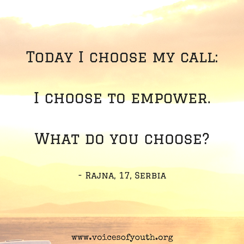 Choose to empower.