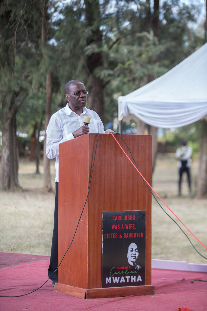 No system anywhere in world watches peacefully when the poor are being mobilized and organized against it. The dictatorial Kenyan system is no exception.Those who do this work should be glorified,protected,by all human rights activists. -@WMutunga speech at #CarolMtetezi service