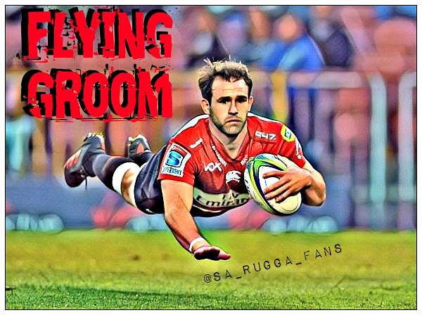 A Flying Groom!  #LionsPride #LetsUnite  #STOvLIO  #SuperRugby  #PrideofJozi  #SSRugby  #superbru #rugby
