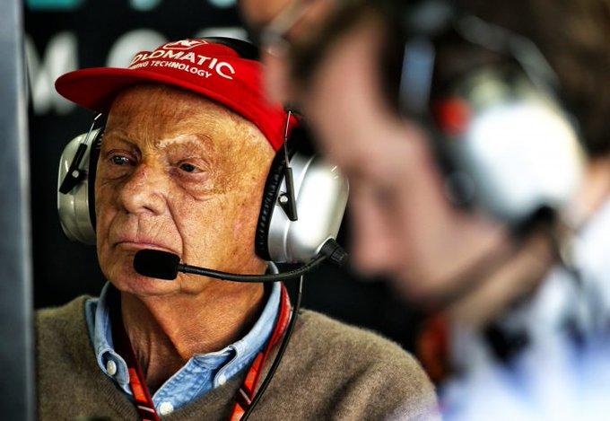 Happy birthday  to you Niki Lauda. Hopefully we see you back soon.