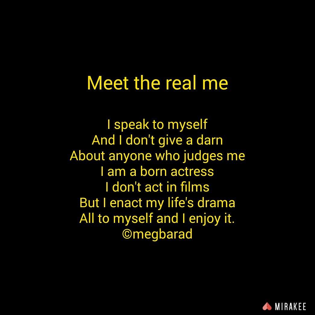 BaradMeghna #realme #reality #myself #life #realmequotes