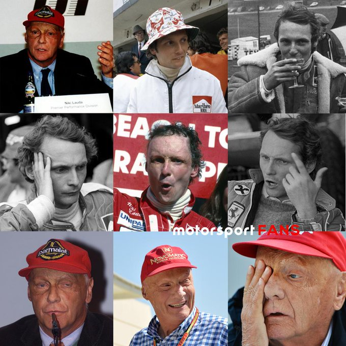 Which Niki are you today?  Happy 70th birthday to the legend that is Niki Lauda!