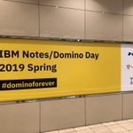 Image for the Tweet beginning: IBM Notes/ Domino Day 2019