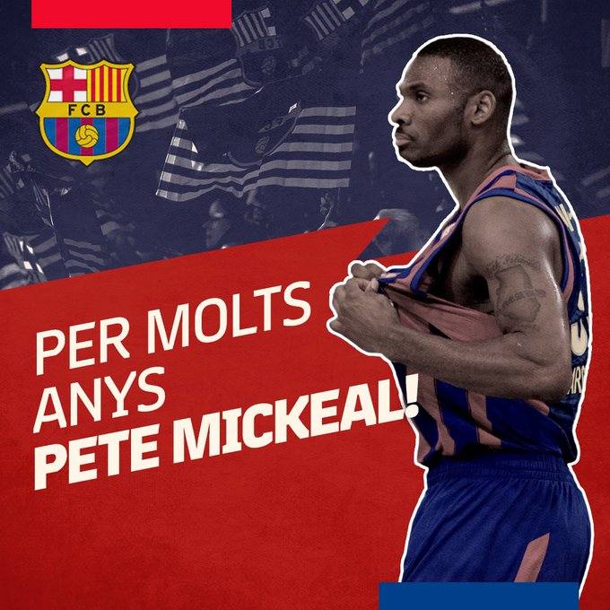 Happy birthday Pete! Muchas felicidades, Pete Mickeal! Per molts anys