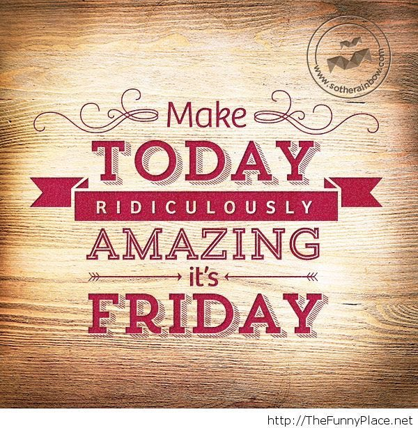 It's Friday!  Good morning friends! See changes as opportunities &amp; challenges as possibilities, you can't lose!  #FridayFeeling #bfc530 <br>http://pic.twitter.com/7VDKLpgw5L