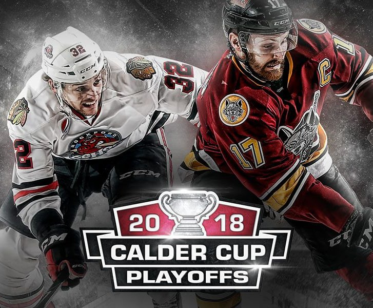 #FlashbackFriday to when the @Chicago_Wolves faced the @goicehogs in the 2018 Central Division Semifinals. #TheWolfPack25Years