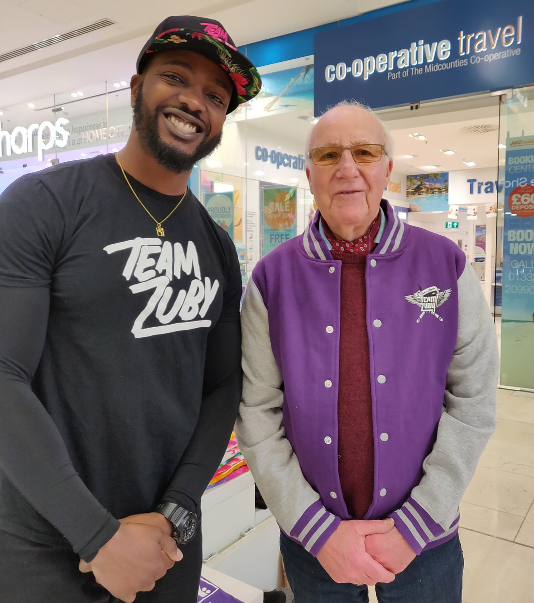 Dave loved this jacket but thought he might be too old to rock it.  He's 82.  I told him he'd actually be the coolest 82 year old in the city.   He bought it.   #BeLikeDave #TeamZuby<br>http://pic.twitter.com/QOsTORJYnI