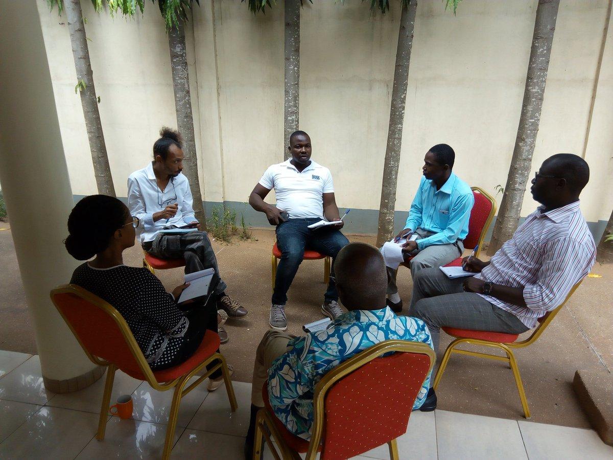 Jour 2 de la formation sur l'#exportation. Pratique du diagnostic d'entreprise et de la démarche d'exportation. #Togo #TogoFirst #Togo228 #Denyigban