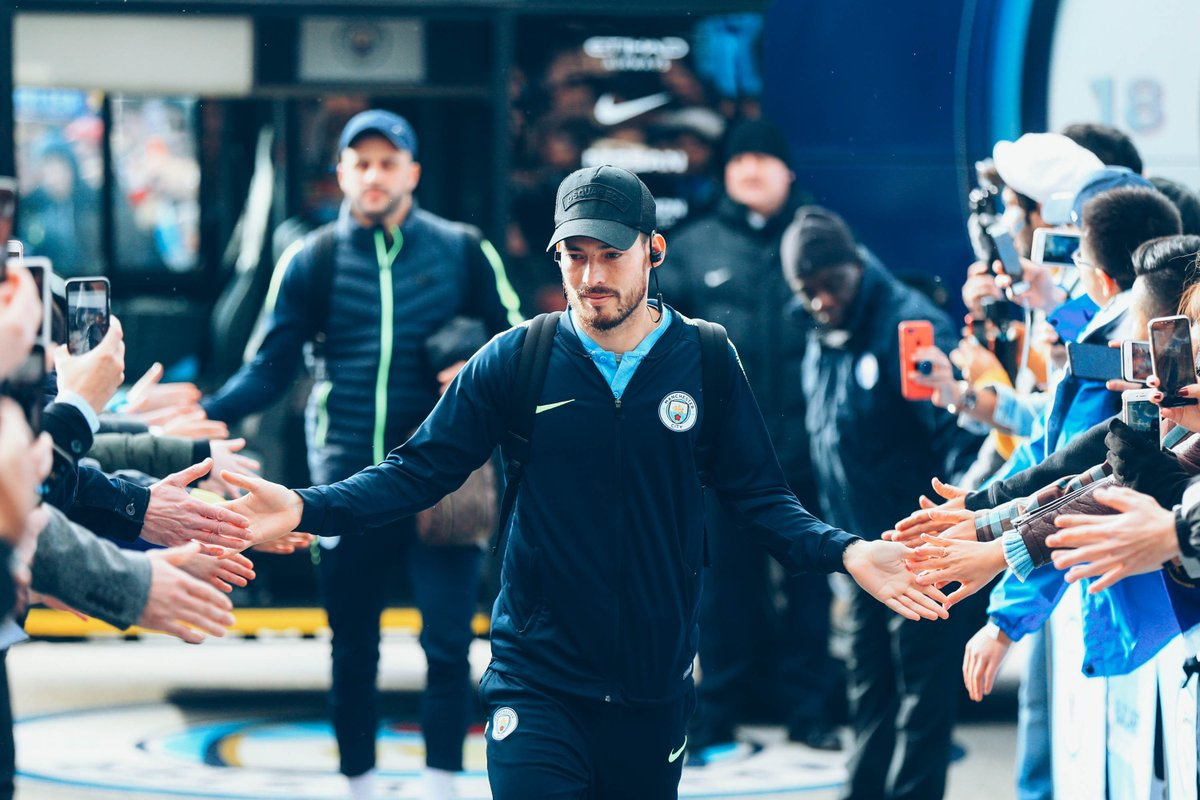 """""""It's another chance to win a title.  'And it's always beautiful to play a final at Wembley, for our fans as well.  """"It'll be tough. They have a lot of quality players up front, so we should take care.""""  💬 @21LVA  🔵  #mancity"""