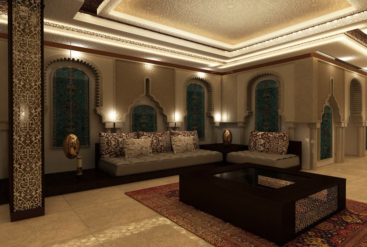 arabian style living room - HD1240×835