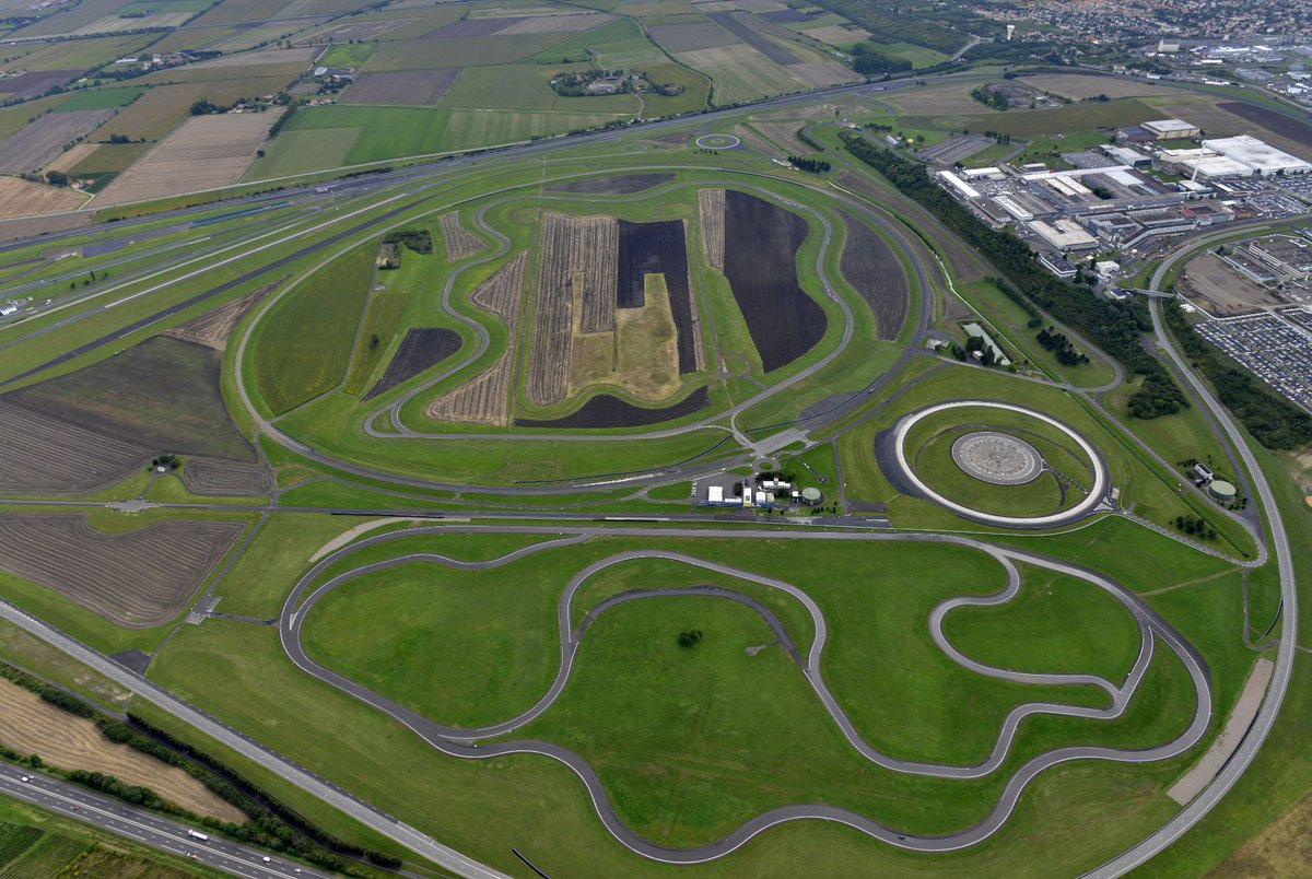 450 hectares, with 20 test tracks stretching 45 km, for grip tests on wet or dry surfaces, handling tests, noise tests, comfort testing etc.  Welcome to our Ladoux proving ground - located at the Michelin Technology Centre, in France.