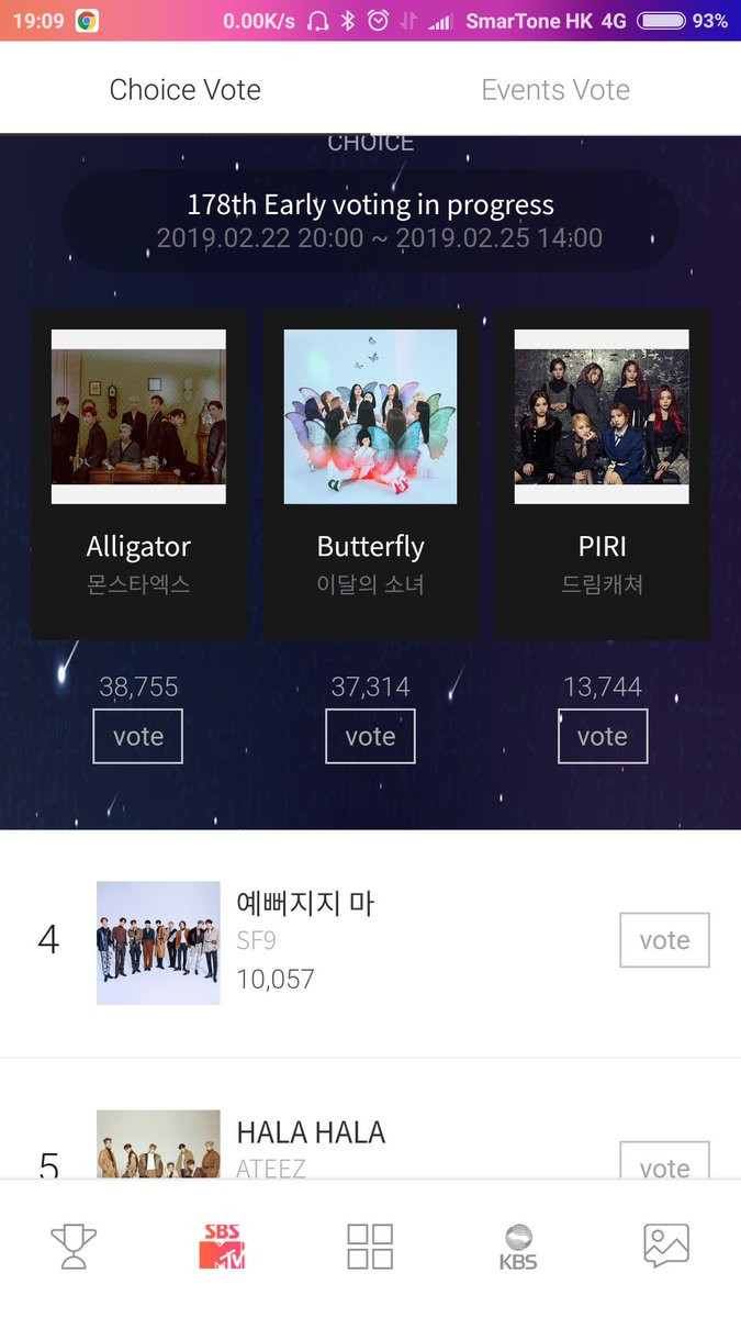 Fantasy..... time to use your starpoints...... vote for #SF9_ENOUGH on The Show choice pre voting<br>http://pic.twitter.com/M4NwhsmzlN
