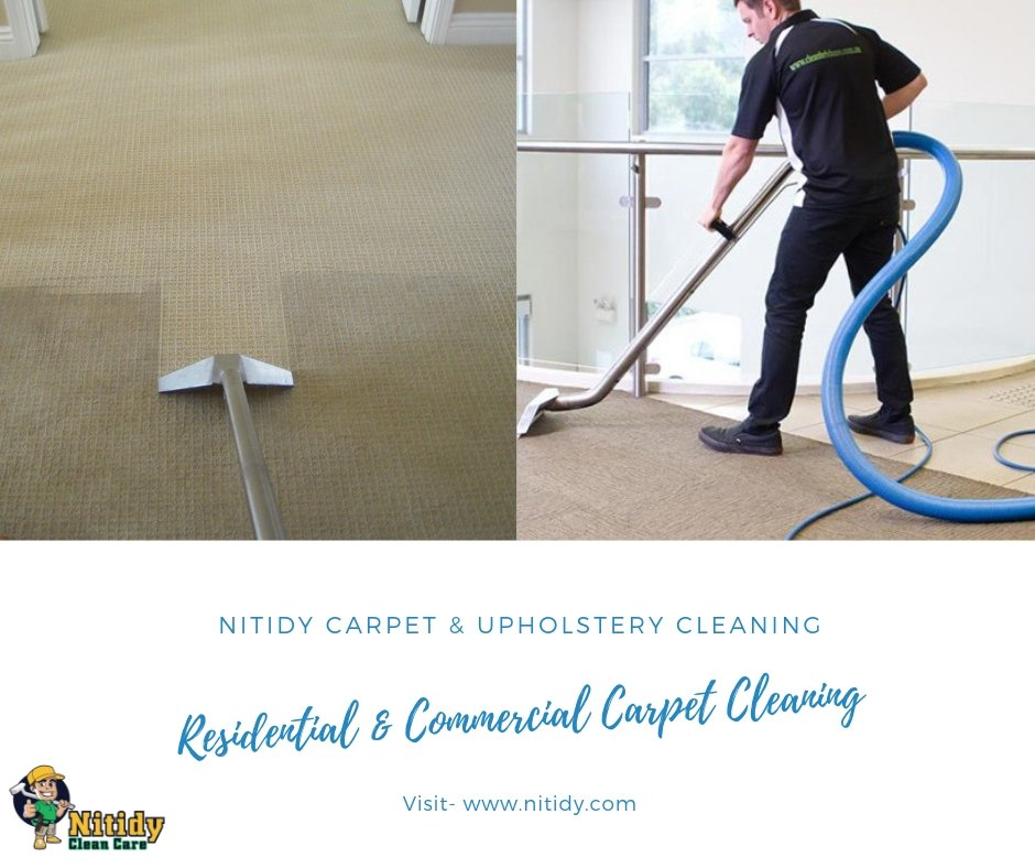 Your search for affordable professional carpet cleaning service ends at Nitidy Clean Care Inc. We cater to both residential and commercial needs of our ...