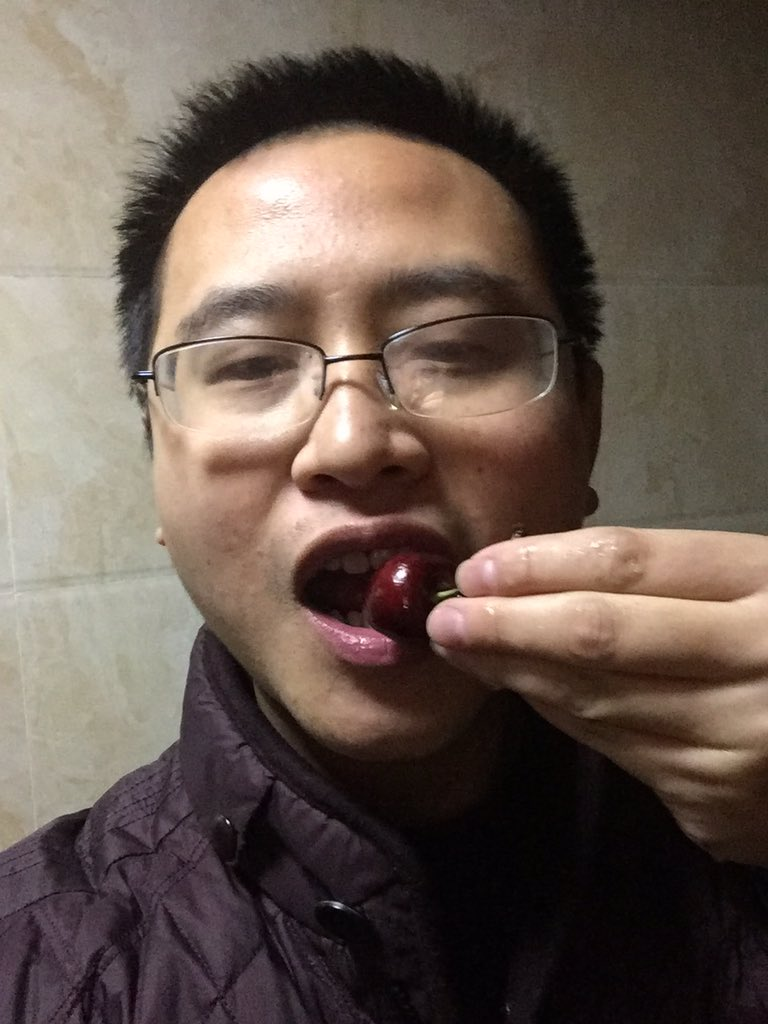 Eat some cherries  to reward myself, I feel a little better <br>http://pic.twitter.com/lYuZwxALUg