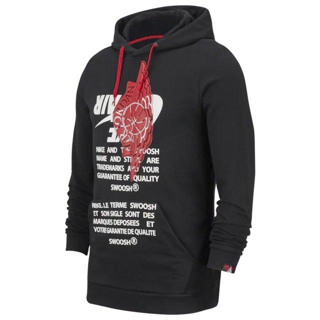 footlocker nike swoosh hoodie