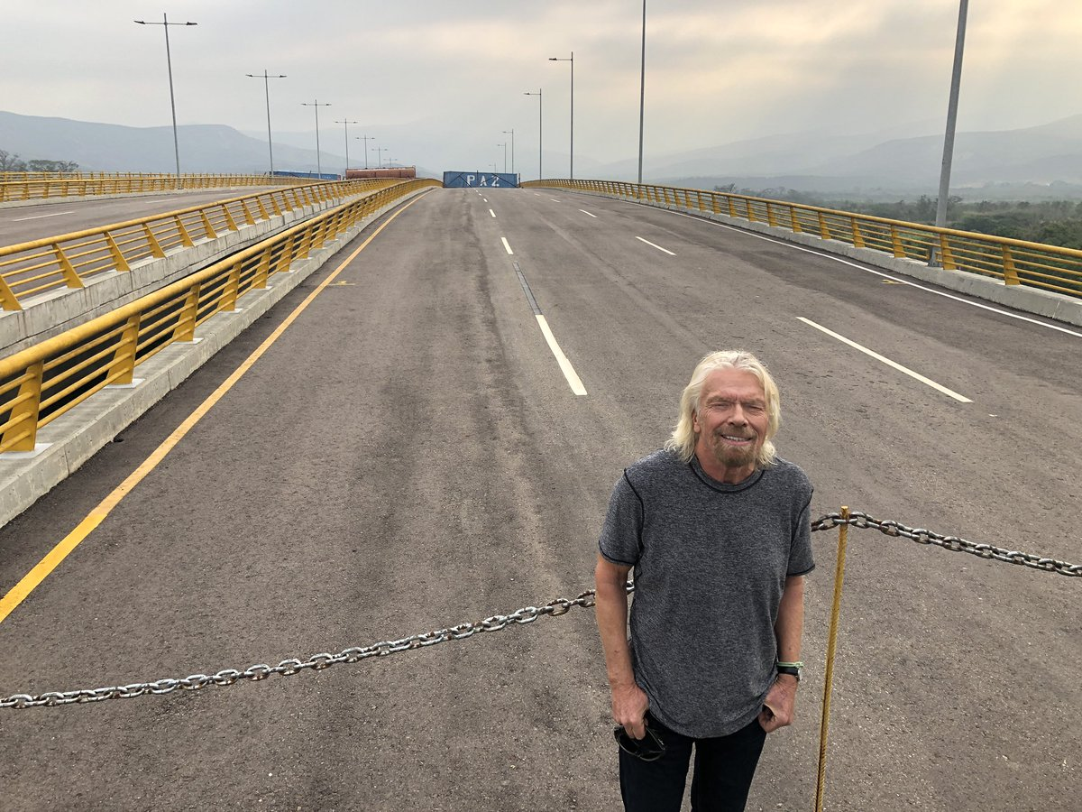 We are on a bridge, today we want to build a bridge of hope #VenezuelaAidLive