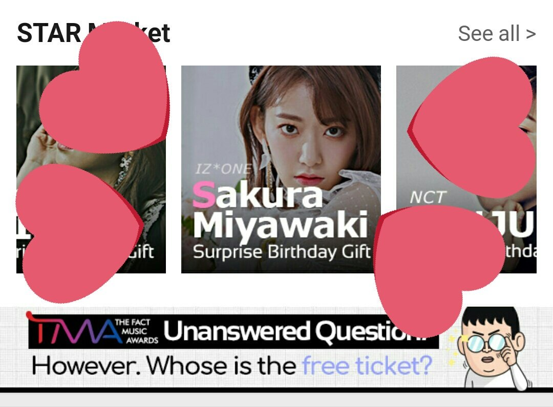 This is Birthday Event from @thefactnews  Please download &quot;FAN N STAR&quot; apps and collect stars to give Birthday advertising to Sakura. We have 16 Days until deadline. Need 900K to get Bus adds PLEASE HELP #미야와키사쿠라 #MiyawakiSakura  #宮脇咲良 #アイズワン #izone #아이즈원<br>http://pic.twitter.com/q2s4z5Z2Tv