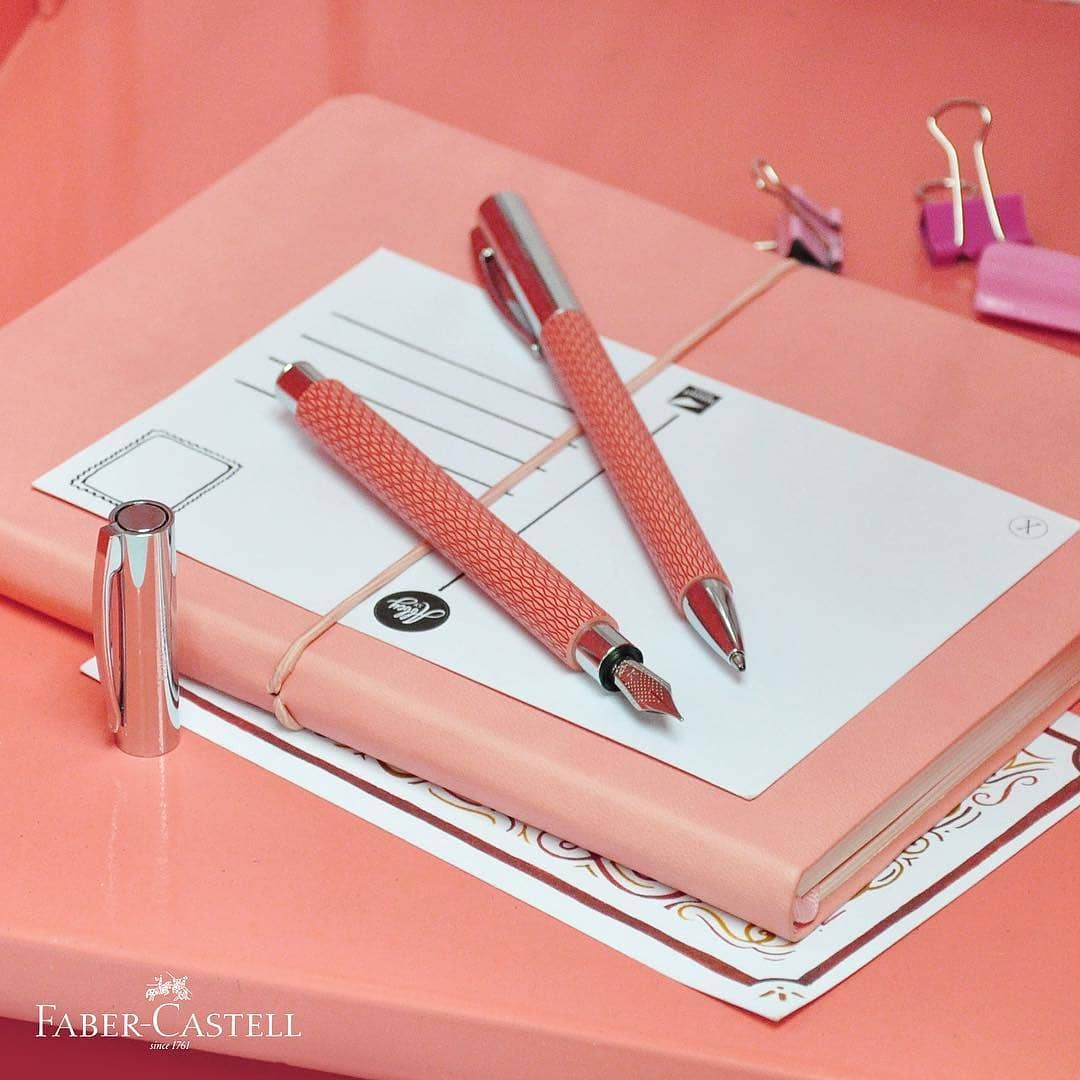 Living Coral is #Pantone&#39;s color of the year and it&#39;s one of our fave!  Faber-Castell Ambition Op-Art Flamingo is still available in very limited quantity! Get it at your nearest NBS branches: Glorietta 1, SM Mall of Asia, SM North, Quezon Ave  Scribe: Eastwood Mall, SM Aura <br>http://pic.twitter.com/ehYv7oBiLM