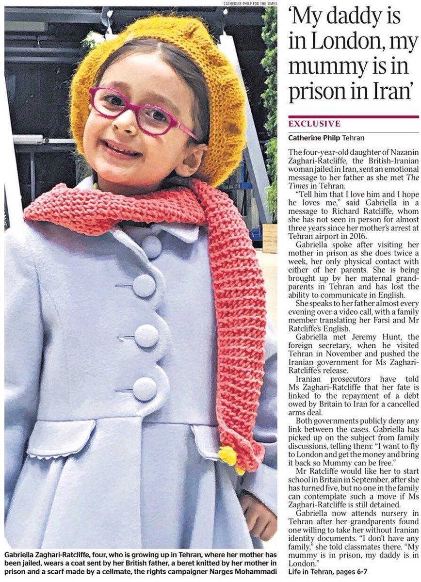 Innocent family torn apart by #politics since 2016. Please Call on H.E.  @Khamenei_ir @Rouhani_ir to grant #FreeNazanin Zaghari-Ratcliffe an early  ...