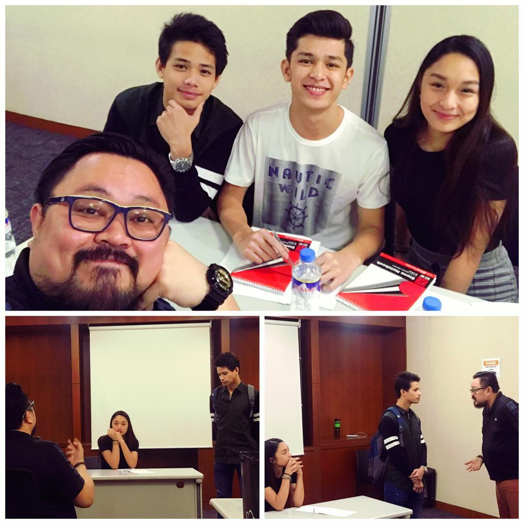 I&#39;m very jealous of @aliabinal002, @AljonMendoza_ and @atasha_parani. They all got to do a special acting workshop with my mentor Direk Rahyan Carlos. I miss the Chubbuck Hall so much. I can&#39;t wait to go back to class! #happykarga<br>http://pic.twitter.com/p5mfW0lCOs