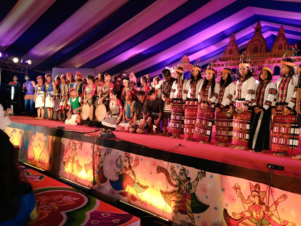 Special performance by Tribal dances of North Eastern States. @PrayagrajKumbh #Kumbh2019